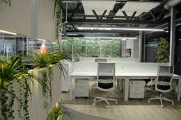 Edificios de Oficinas de estilo  por Quark arquitectos