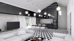 Salas de estilo mediterraneo por INDEA