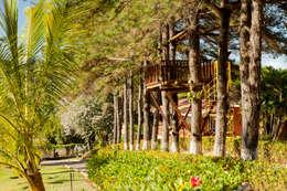 Casa de Campo Cabreúva: Casas campestres por Cactus Arquitetura e Urbanismo