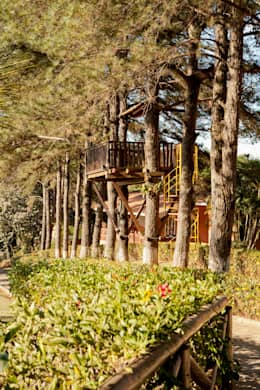 Casas de estilo rural por Cactus Arquitetura e Urbanismo