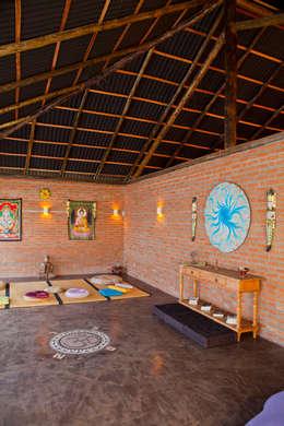 Spa de estilo rural por Cactus Arquitetura e Urbanismo