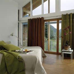 modern Bedroom by Bau-Fritz GmbH & Co. KG