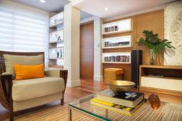 Salas / recibidores de estilo moderno por Arquitetura 8 - Ana Spagnuolo & Marcos Ribeiro