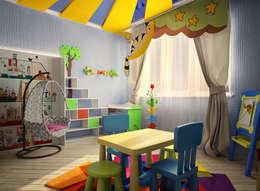 Dormitorios infantiles de estilo moderno por Инна Михайская