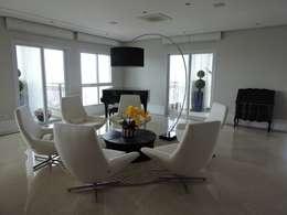 Projekty,  Salon zaprojektowane przez PL ARQUITETURA