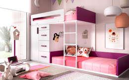 Dormitorios infantiles  de estilo  por MUEBLES OYAGA