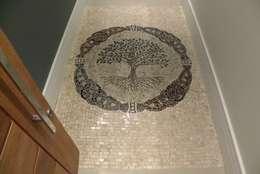 Mosaico Leonardo Posenato 의  벽 & 바닥