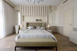 Дизайн-студия «ARTof3L»: klasik tarz tarz Yatak Odası