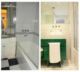 Segundo Baño:  de estilo  por Indinaco srl Construcciones y servicios