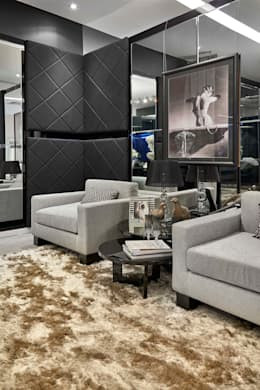 Decora Lider Campinas - Sala de Vestir   : Salas de estar modernas por Lider Interiores