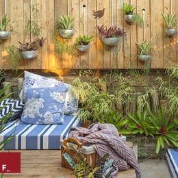 Jardin de style de style eclectique par Fadel Arquitetura