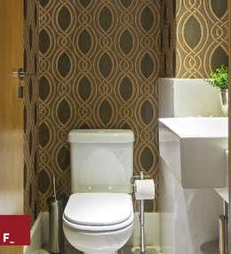 Fadel Arquitetura: asyatik tarz tarz Banyo