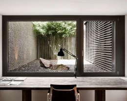 modern Study/office by meier architekten