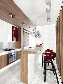 Cocinas de estilo minimalista por IK-architects