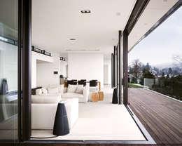 modern Living room by meier architekten