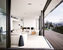 moderne Woonkamer door meier architekten