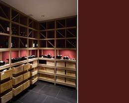 moderne Wijnkelder door meier architekten
