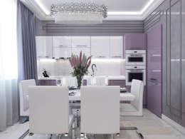 modern Kitchen by Volkovs studio