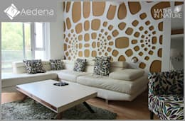 Paisajismo de interiores de estilo  por Aedena