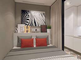 scandinavian Bedroom by Volkovs studio