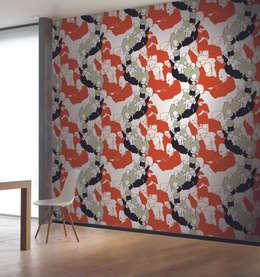 HannaHome Dekorasyon  – Geleceğe Dönüş!: modern tarz Duvar & Zemin