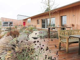Gartenterrasse: landhausstil Garten von Kräftner Landschaftsarchitektur