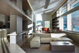 Livings de estilo moderno por arkham project