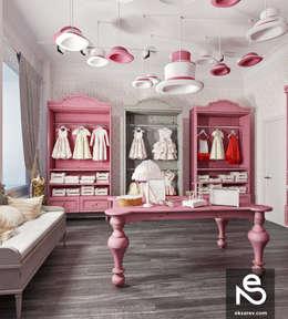 """Showroom """"KidsCouture"""": Гардеробные в . Автор – Studio Eksarev & Nagornaya"""
