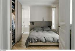 Projekty,  Sypialnia zaprojektowane przez claire Tassinari