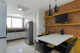 Casa Brooklin: Cozinhas modernas por Cactus Arquitetura e Urbanismo