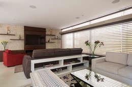 modern Living room by Cactus Arquitetura e Urbanismo