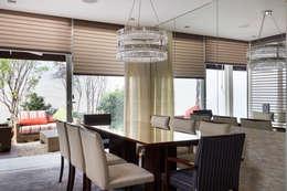 modern Dining room by Cactus Arquitetura e Urbanismo
