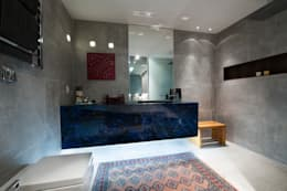Baños de estilo moderno por Cristiane Locatelli Arquitetos & Associados
