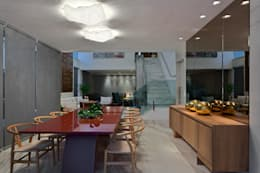 modern Dining room by Lucas Lage Arquitetura