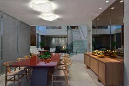 moderne Eetkamer door Lucas Lage Arquitetura