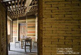 Villa Déchets à Nantes -Frederic Tabary-: Salle à manger de style de style eclectique par Tabary Le Lay
