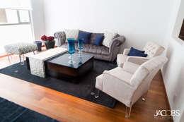 Sala : Salas de estilo moderno por Jacobs Interiorismo