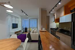 Cocinas de estilo minimalista por Lucas Lage Arquitetura