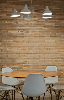 Comedores de estilo minimalista por Lucas Lage Arquitetura