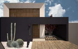 RENDER DE DÍA: Casas de estilo minimalista por Región 4 Arquitectura