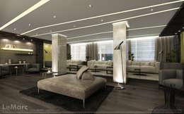 Hoteles de estilo  por Estudio JP