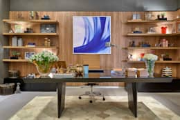 Oficinas de estilo moderno por Lider Interiores