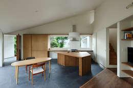 Nhà bếp by 向山建築設計事務所