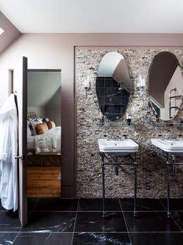 Projekty,  Łazienka zaprojektowane przez Concept Eight Architects