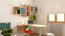 modern Study/office by OGARREDO