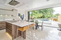 Oakhill Road, Putney: modern Kitchen by Concept Eight Architects