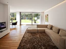 Projekty,  Salon zaprojektowane przez Marcus Hofbauer Architekt