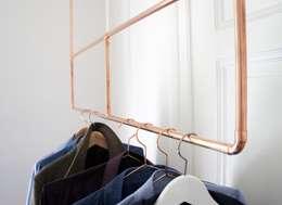 industrial Bedroom by Calvill
