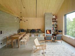 Wunderbar Haus Am Thurnberger Stausee: Moderne Wohnzimmer Von Backraum Architektur
