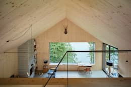 Гостиная в . Автор – Backraum Architektur